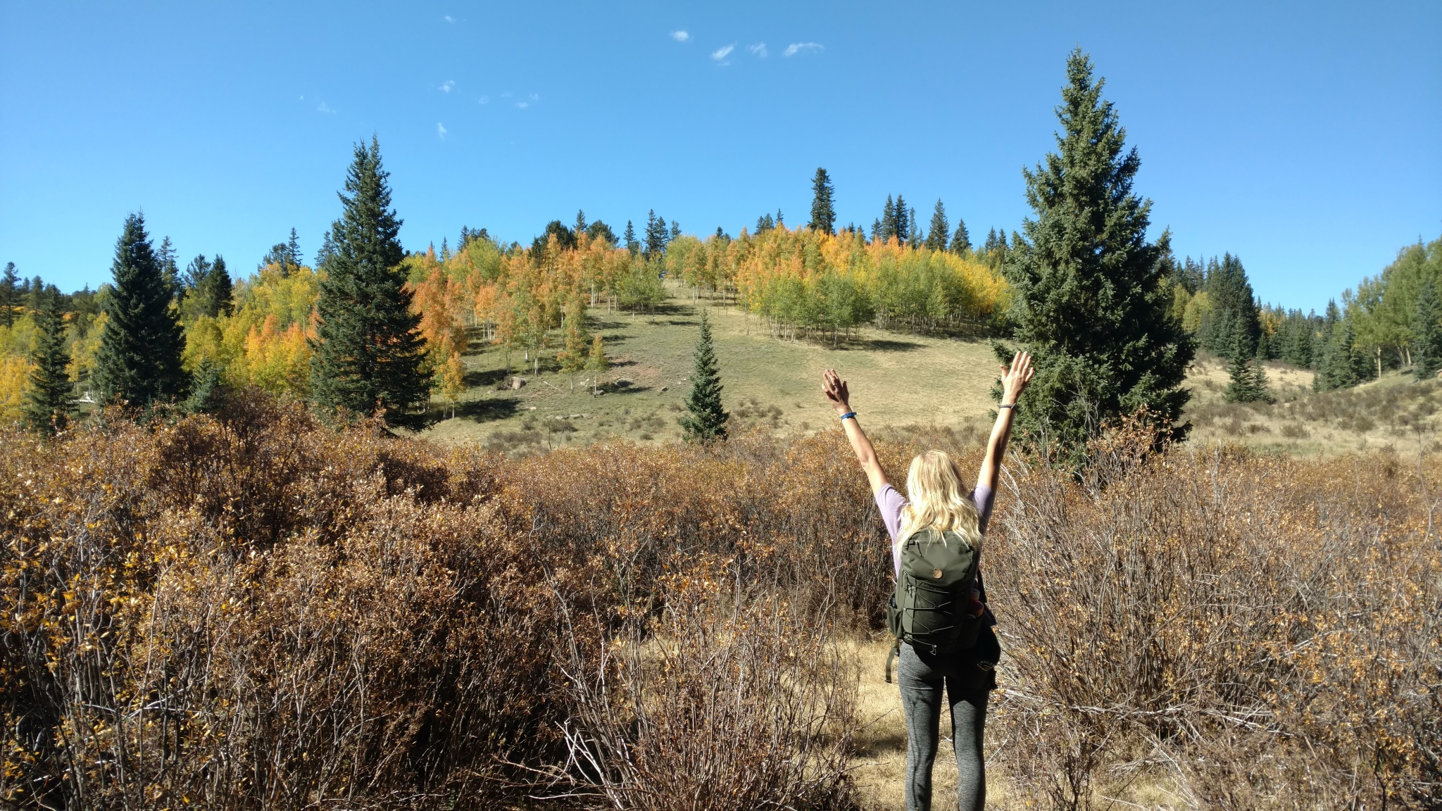 hiking, pancake rocks, colorado, fall colors, mountains, friends